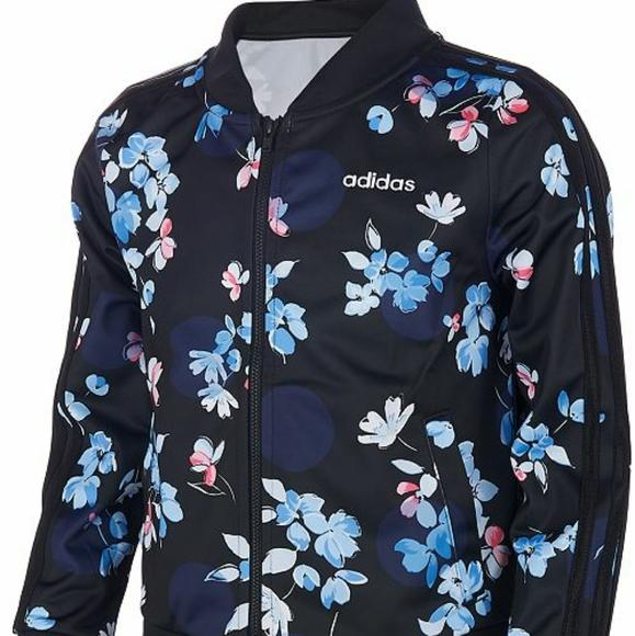 Disponible segunda mano Farmacología  adidas Jackets & Coats | Adidas Floral Bomber Jacket | Poshmark